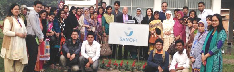 Industrial Tour to Sanofi Bangladesh Limited | Brac University