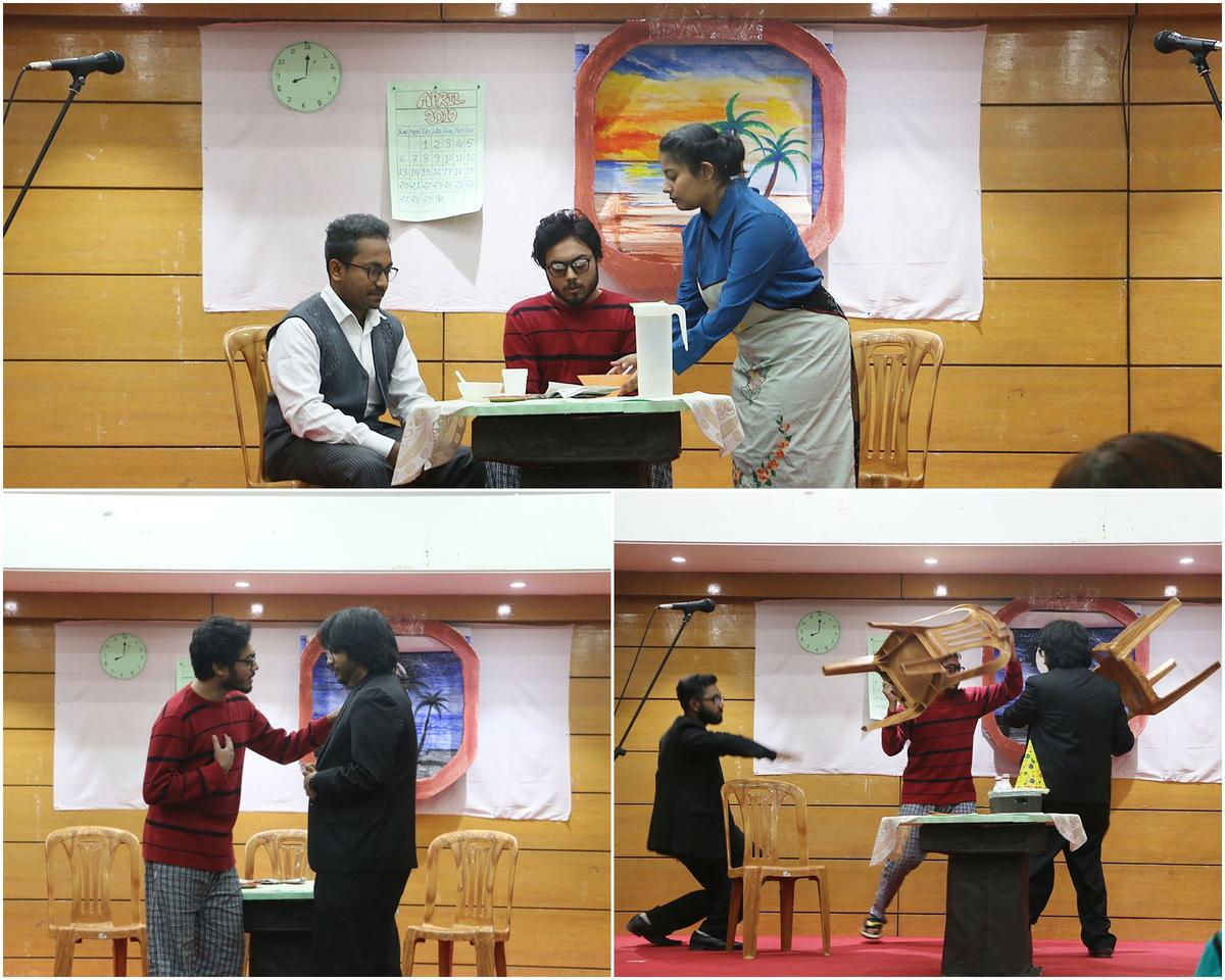 ENH students stage Harold Pinter's play | Brac University